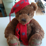 Hamleys 2006 Christmas Bear teddy